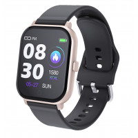 MobilePro G7 Smartwatch & Fitness Tracker - Black & Gold