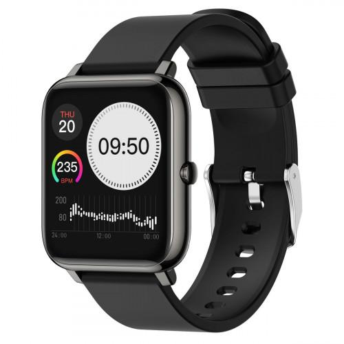 MobilePro V25 Smart Watch and Fitness Tracker - Black